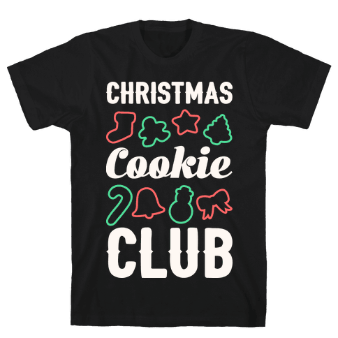 Christmas Cookie Club Mens T-Shirt