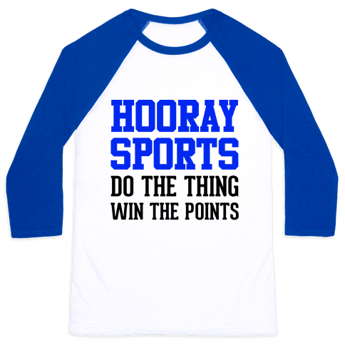 Hooray Sports Baseball Tee