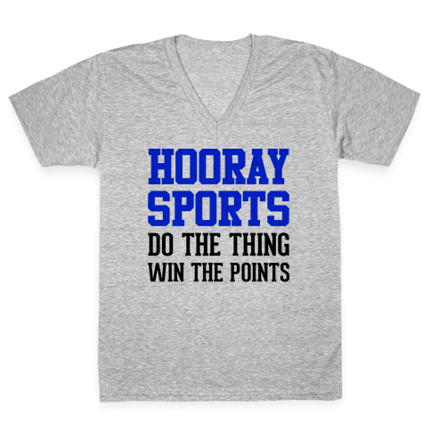 Hooray Sports V-Neck Tee Shirt
