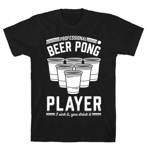 Professional Beer Pong Player