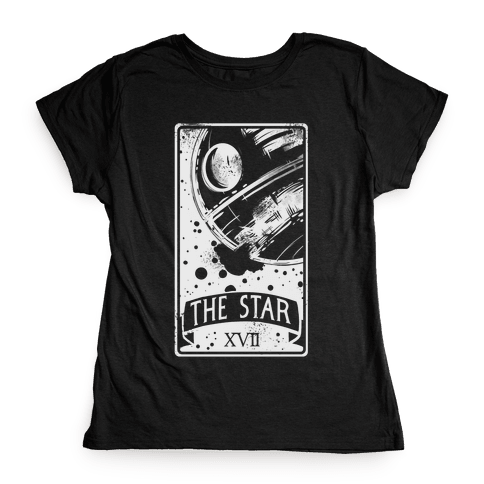 The Star Tarot Card Womens T-Shirt
