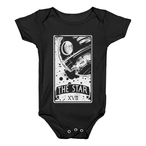 The Star Tarot Card Baby Onesy