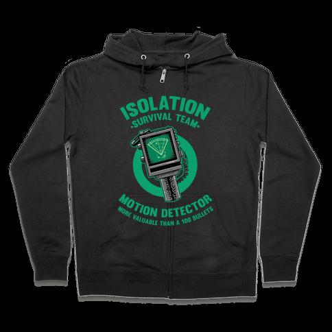 Isolation Survival Team Motion Detector Zip Hoodie