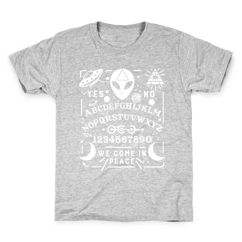 Occult Alien Ouija Board Kids T-Shirt