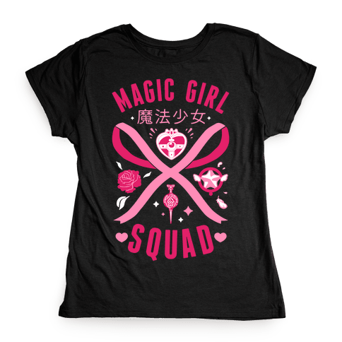 Magic Girl Squad Womens T-Shirt
