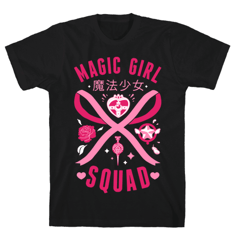 Magic Girl Squad Mens T-Shirt