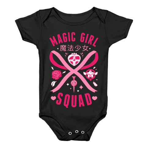 Magic Girl Squad Baby Onesy