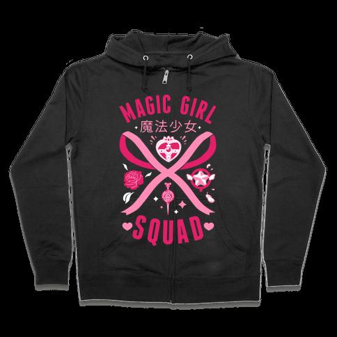 Magic Girl Squad Zip Hoodie