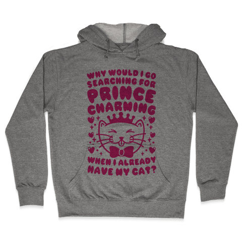 Cat Prince Hooded Sweatshirt