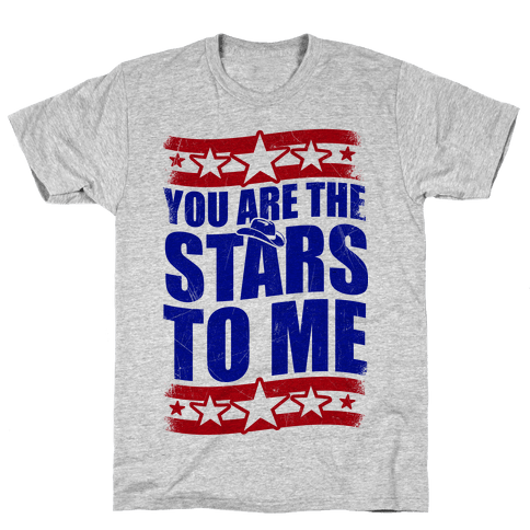 You Are The Stars To Me Mens T-Shirt