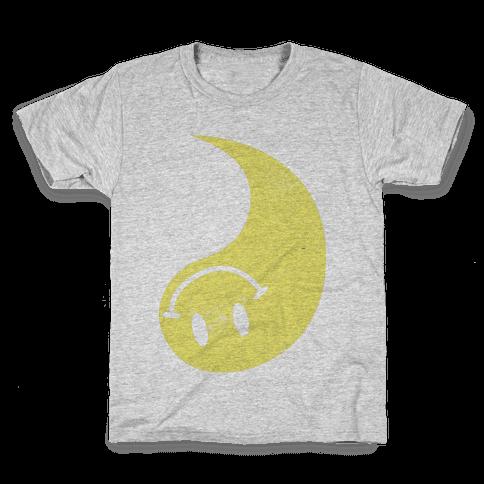 Smiley Yin Yang 2 Kids T-Shirt