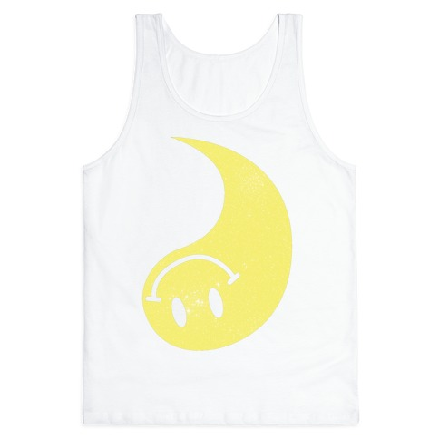 Smiley Yin Yang 2 Tank Top
