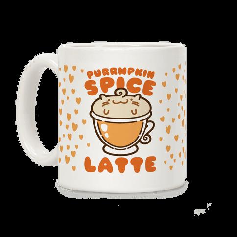 Purrmpkin Spice Latte Coffee Mug