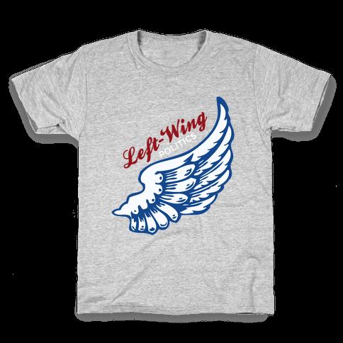 Left-Wing Politics Kids T-Shirt