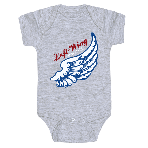 Left-Wing Politics Baby Onesy