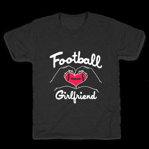 Football Girlfriend Kids T-Shirt