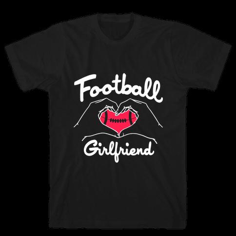 Football Girlfriend Mens T-Shirt