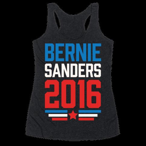Bernie Sanders 2016 Racerback Tank Top