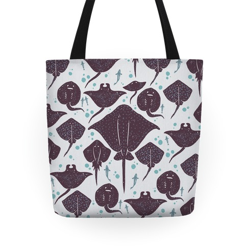 Family Of Stingrays Tote