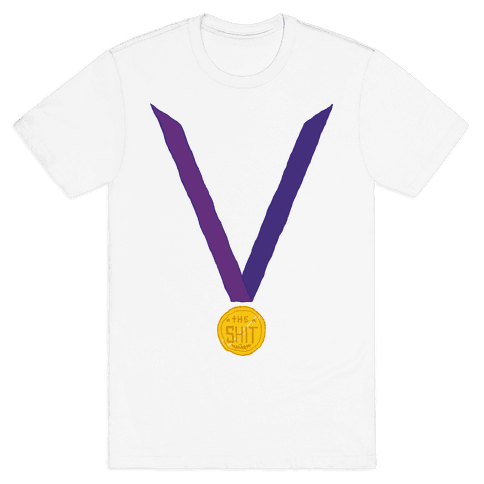This Medal Means I'm the Shit Mens T-Shirt