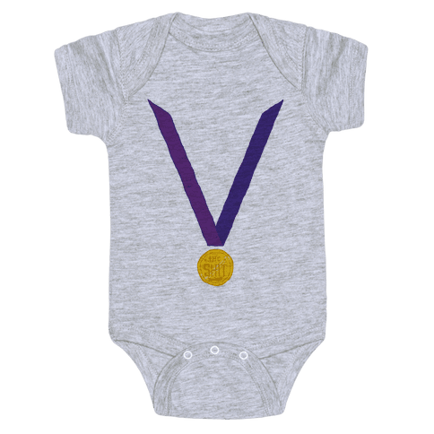 This Medal Means I'm the Shit Baby Onesy
