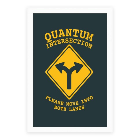 Quantum Intersection Poster
