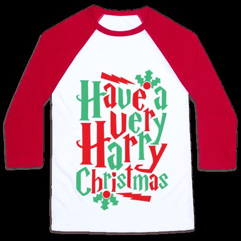 Have A Very Harry Christmas Baseball Tee