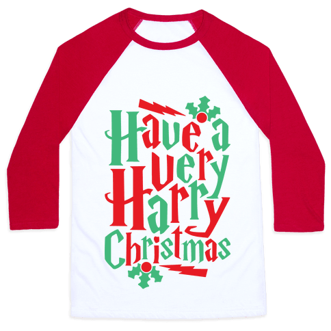 Have A Very Harry Christmas Baseball Tee