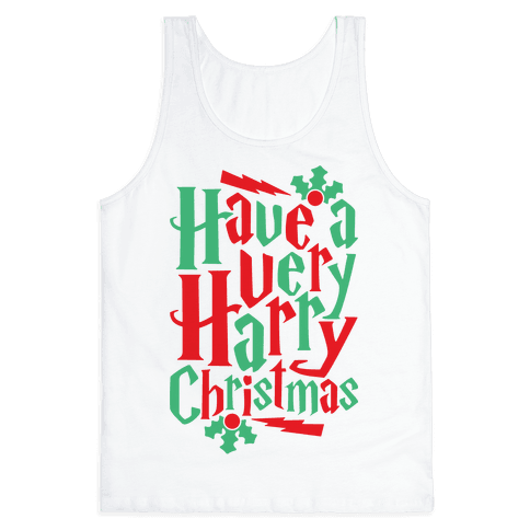 Have A Very Harry Christmas Tank Top