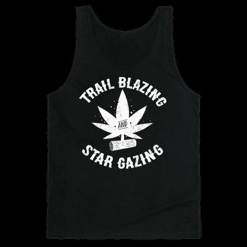 Trail Blazing And Star Gazing Tank Top