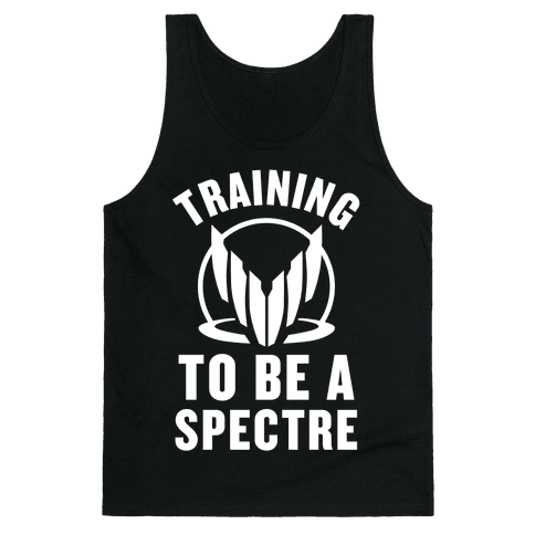 Training To Be A Spectre Tank Top