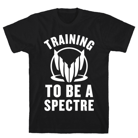 Training To Be A Spectre Mens T-Shirt