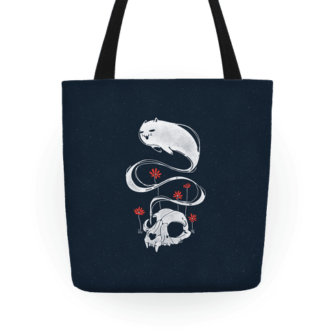 Cat Ghost Tote