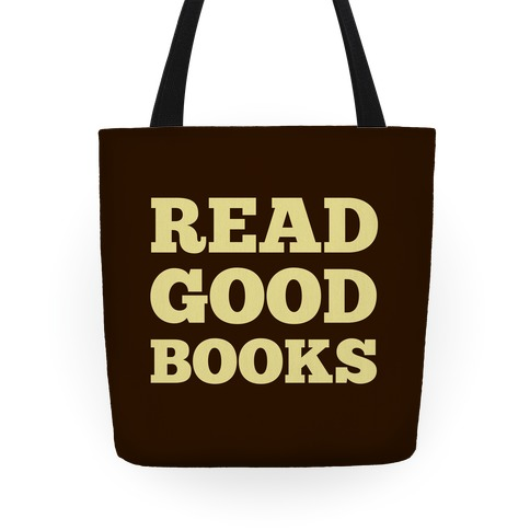 Read Good Books Tote