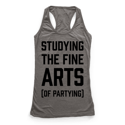 Studying The Fine Arts (Of Partying)