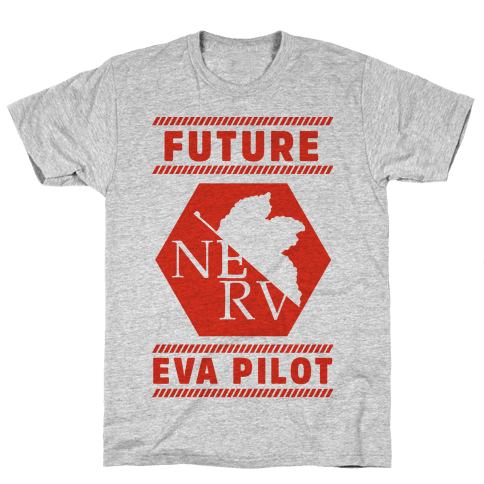 Future Eva Pilot Mens T-Shirt