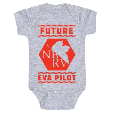 Future Eva Pilot Baby Onesy
