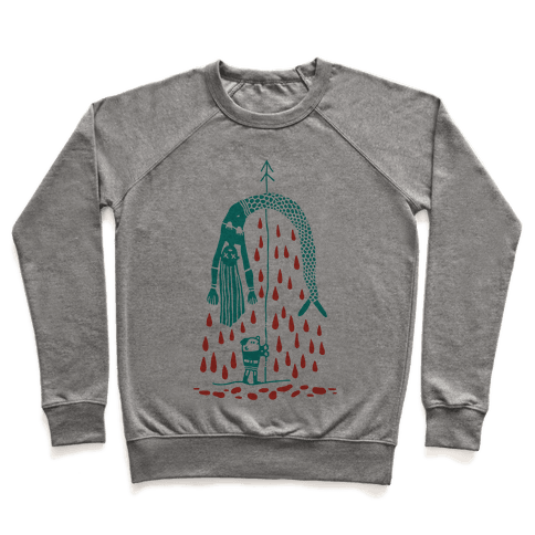 Mermaid Hunter Pullover