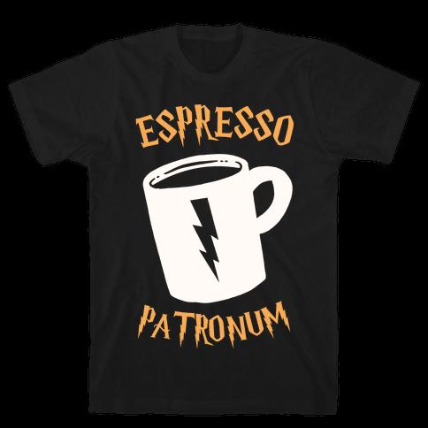 Espresso Patronum Mens T-Shirt