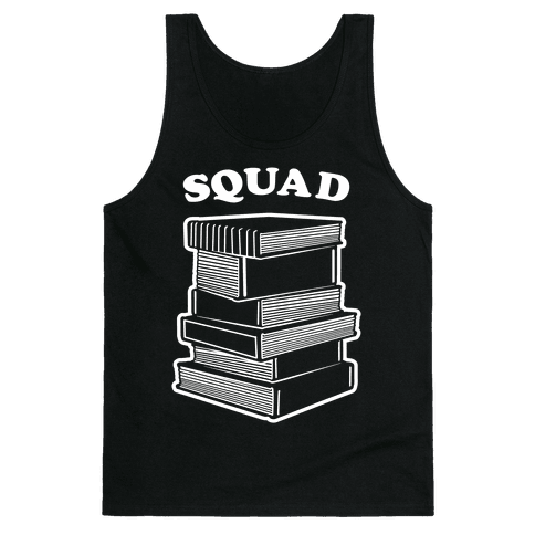 Book Squad Tank Top