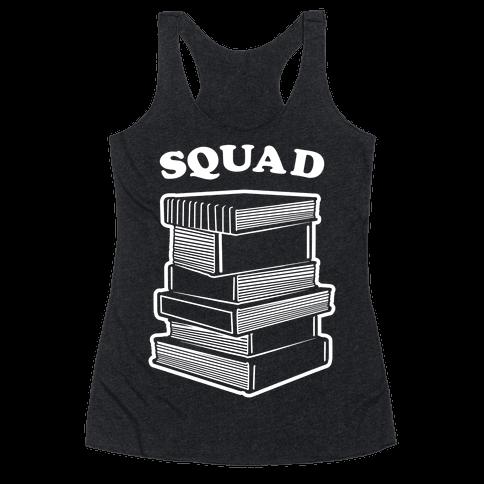 Book Squad Racerback Tank Top