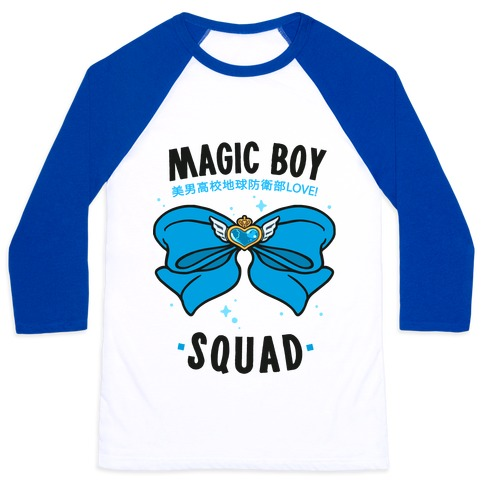 Magic Boy Squad (Blue) Baseball Tee