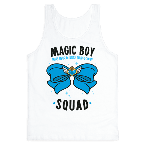 Magic Boy Squad (Blue) Tank Top