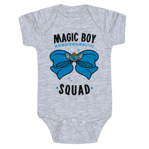 Magic Boy Squad (Blue) Baby Onesy