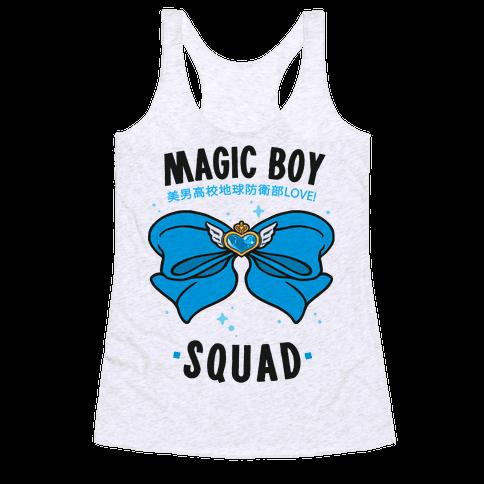 Magic Boy Squad (Blue) Racerback Tank Top