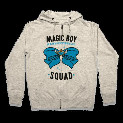 Magic Boy Squad (Blue) Zip Hoodie