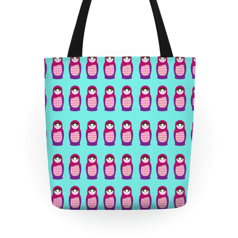 Cute Nesting Doll Pattern