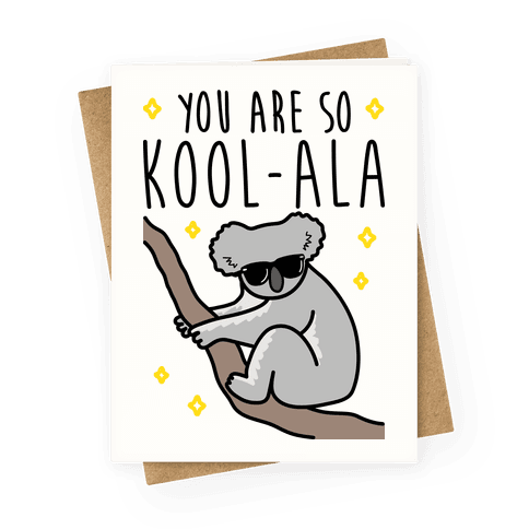 Kool-ala Greeting Card