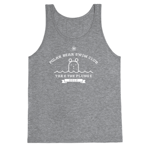 Polar Bear Swim Club Tank Top