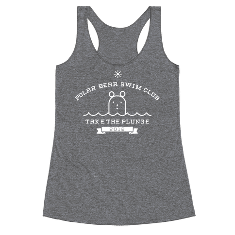 Polar Bear Swim Club Racerback Tank Top